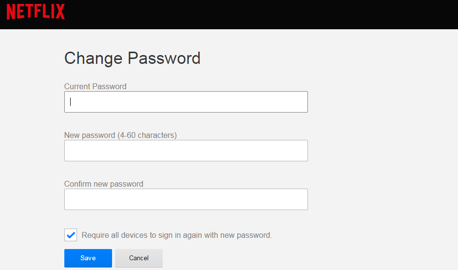 Change-Netflix-Password
