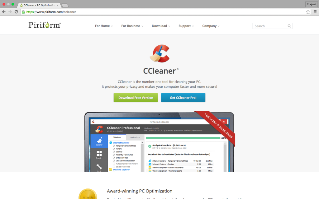 Download-Ccleaner