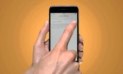 how to turn on location services