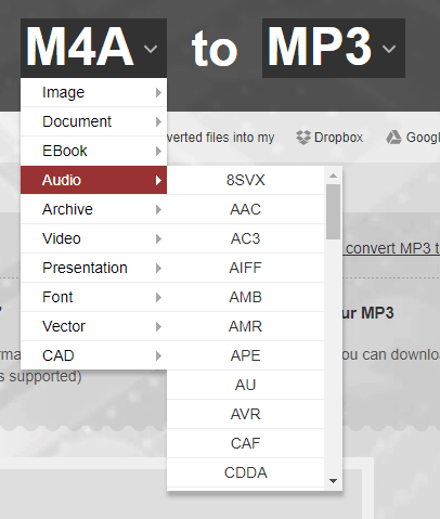 Convert-m4a-to-mp3-Online