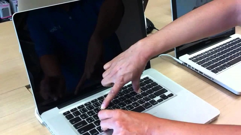 how to reset a macbook air