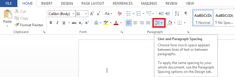How-to-double-space-in-Word
