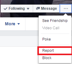 how-to-report-someone-on-facebook