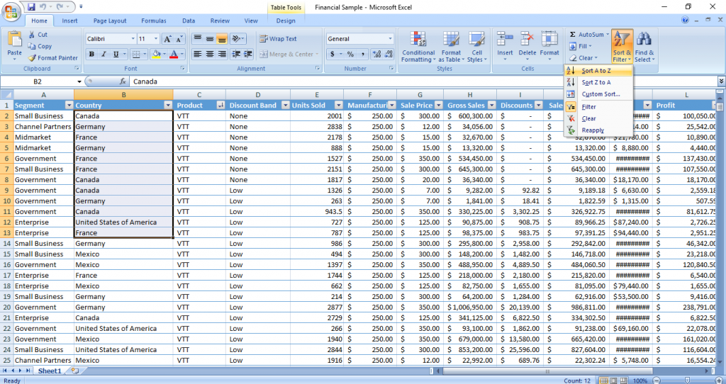 excel-sort-by-column