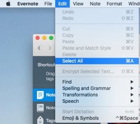 transfer Your Notes from Evernote to Apple Notes