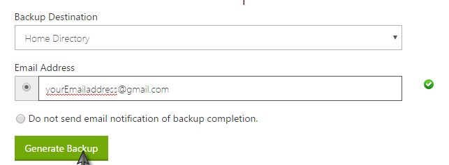 How to fully Backup my site