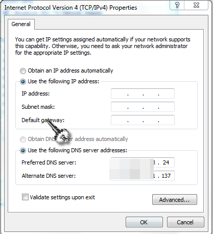 How to Assign Static IP Address in Windows 7, 8, 10 or XP