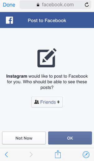 How do I link my Instagram account to my Facebook profile