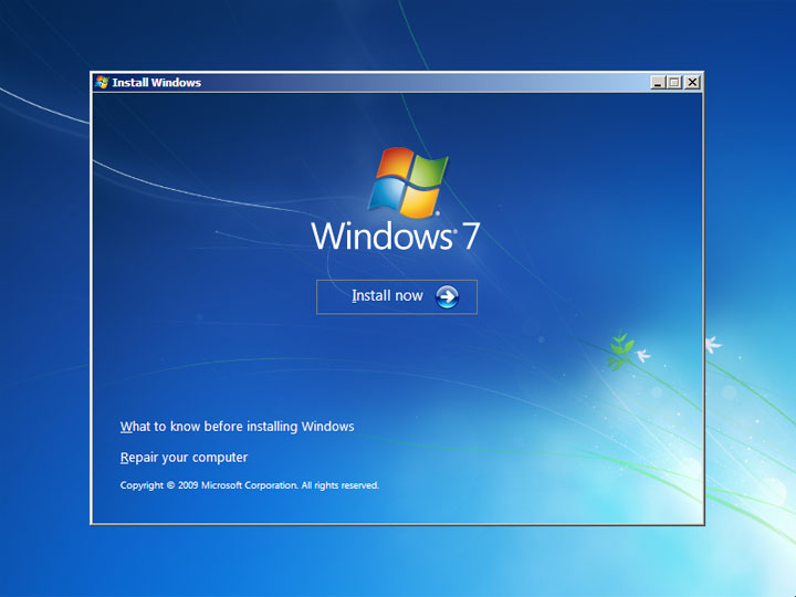 How to Repair Windows 7